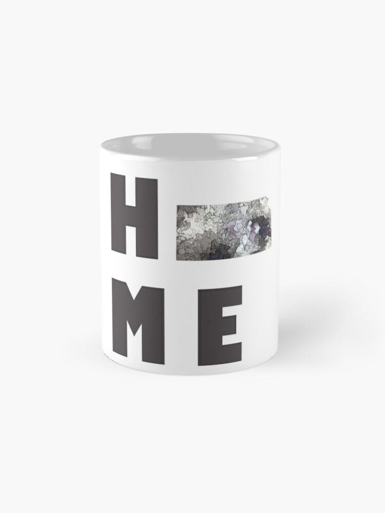 """Alternative Ansicht von Kansas """"HOME"""" Tasse"""
