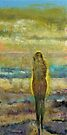 Figure on a Beach by Michael Creese