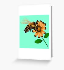 Happy Spring Bee  Greeting Card