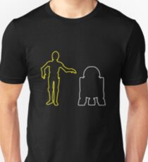 C-3PO And R2-D2 T-Shirt