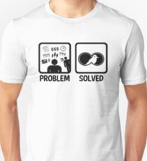 Funny Bird Watching Problem Solved T-Shirt