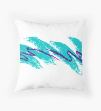 90s Jazz Cup Solo Throw Pillow