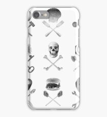 Existential Pirate - White iPhone Case/Skin