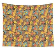 The bee Wall Tapestry