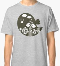 Birds and grass Classic T-Shirt