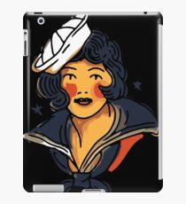 Pin up marine  iPad Case/Skin
