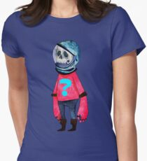 Space Kid Womens Fitted T-Shirt