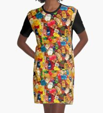 Gummy bear Graphic T-Shirt Dress