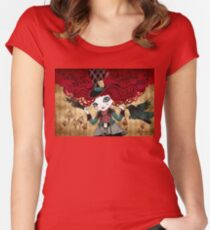 Mad Riddle Women's Fitted Scoop T-Shirt