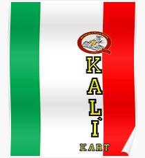 QVHK Kali Kart Poster