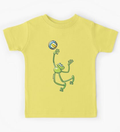 Volleyball Frog Kids Clothes