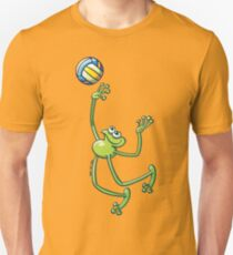 Volleyball Frog Unisex T-Shirt