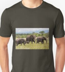 African Bush Elephants (Loxodonta africana) T-Shirt