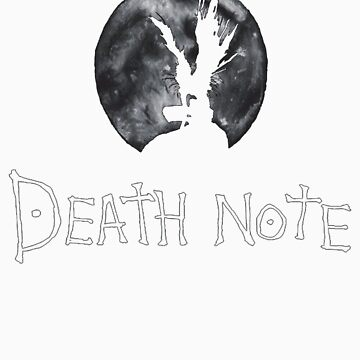 death note - riuk in front of the moon by DonBonanza