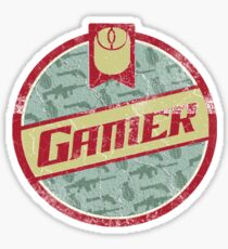 Gamer (vintage) Sticker