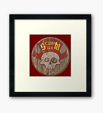 Scumm Bar Framed Print