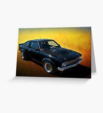 Black Torana A9X Greeting Card