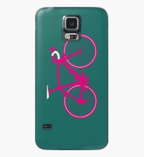 Bike Pop Art (Pink & White) Hülle & Skin für Samsung Galaxy