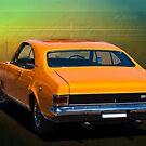 Orange HG Monaro GTS 350 by Stuart Row
