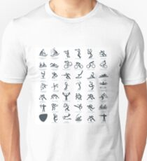 Olympics Icon Pictograms  T-Shirt