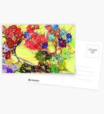 Fractal Impressionism Postcards