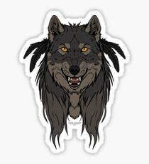 Tribal Werewolf Sticker