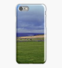View of the Pentland Firth from the Castle of Mey iPhone Case/Skin