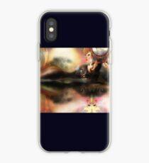 Digital Interface [Digital Figure Illustration] iPhone Case