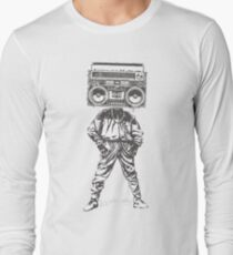 Old School Boy Long Sleeve T-Shirt