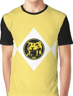 Mighty Morphin Power Rangers Yellow Ranger 2 Graphic T-Shirt
