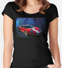Ford GT40 Women's Fitted Scoop T-Shirt