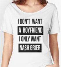 NASH GRIER MAGCON Women's Relaxed Fit T-Shirt