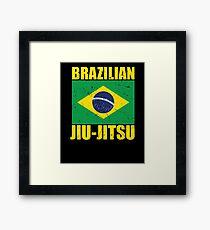 Brazilian Jiu-Jitsu (BJJ) Framed Print