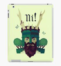 NI! iPad Case/Skin