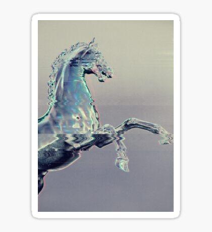Glitch Horse I Sticker