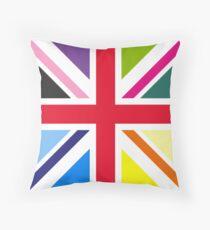 Union Jack (Multi Coloured) Throw Pillow
