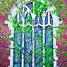 Stained Glass in Spring by Robert Meyers-Lussier