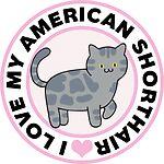 American Shorthair Cat Lover T-Shirts