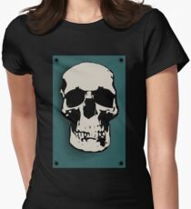 Skull - Sherlock Womens Fitted T-Shirt