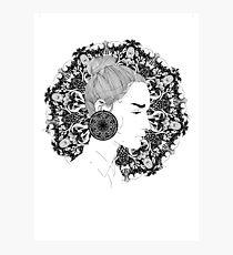 Eva - Fineliner Illustration Photographic Print