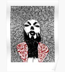 Grace - Fineliner Illustration Poster