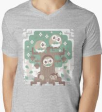 Wood Owl Woods Men's V-Neck T-Shirt