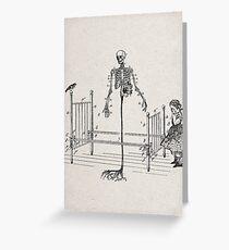 LA ENFERMEDAD (the sickness) Greeting Card