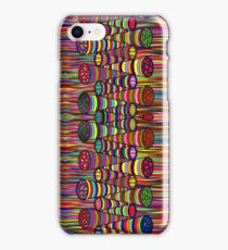 Psychedelic Abstract Colourful 209 iPhone Case/Skin