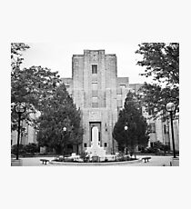 Boulder Courthouse Photographic Print