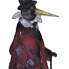 STATELY CROW by Hares & Critters
