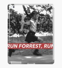 RUN FORREST, RUN! iPad Case/Skin