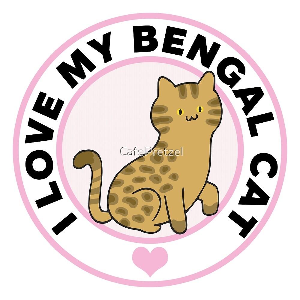 Bengal Cat Lover T-Shirts by CafePretzel