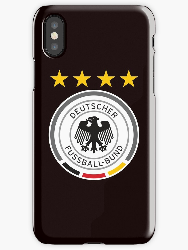 Germany Soccer Logo Iphone Cases Covers By Andy Quan Redbubble