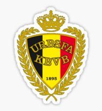 Belgium Soccer Logo Sticker